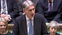 Hammond: Brexit uncertainly 'damaging economy'