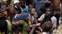 学校の入るビル倒壊、生徒多数が下敷き ナイジェリア