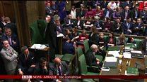 Brexit: délibérations contradictions à la Chambre des Communes