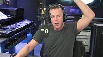 Shane Williams teaches DJ Welsh anthem