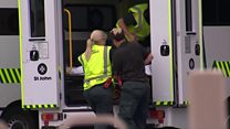 Injured arrive at New Zealand hospital