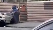 Footage shows Christchurch arrest