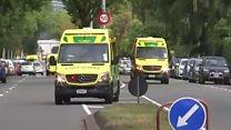"""Tiroteos en Nueva Zelanda: """"Todo el mundo empezó a correr para salvar su vida"""""""