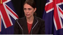 N Zealand PM: 'This is a terrorist attack'