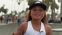 دختر ۱۰ ساله چشم به المپیک دارد