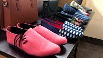 کفشهای لاستیکی یک کارآفرین خلاق هندی