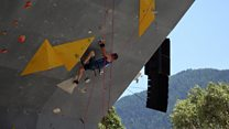 Visually impaired climber among world's best