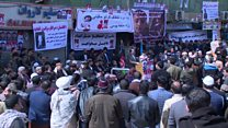 اعتصاب صرافان افغانستان در اعتراض به ناامنی