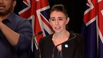 NZ PM: 'Our gun laws will change'