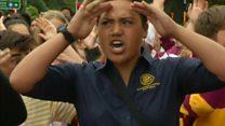 Tiroteos en Nueva Zelanda: el haka de los estudiantes como tributo a los víctimas de los ataques