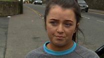 'Everybody just wanted to get inside' - Cookstown witness Kyra Coyle