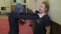 The self-defence classes empowering women