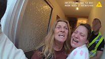 Bodycam footage shows Traveller arrest