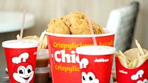 Filipino fried chicken takes on the US big chains