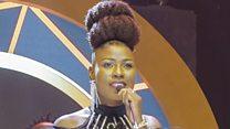 Natacha Lanamba yavuganye na BBC ku gashimwe ka Hip Hop Award