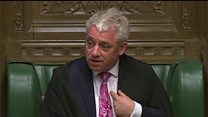 Speaker Bercow tells MPs they are not traitors