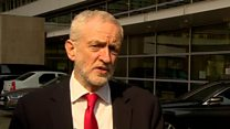 """Jeremy Corbyn: """"We're in danger of leaving the EU with no deal'"""