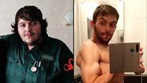 Paramedic loses half his body weight