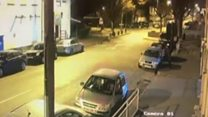 CCTV released after five mosques attacked
