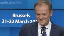 """""""El infierno aún está vacío"""": los exhilarantes momentos de la rueda de prensa de los líderes europeos"""