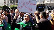 Algeria's youth demand change