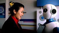 रोबोट: रेस्टुराँ, ब्याङ्क हुँदै अब स्कूलमा पनि