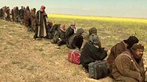 """فريق بي بي سي يزور مخيم الباغوز بعد الإعلان عن """"تحريره """""""