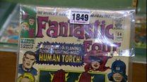 Original Fantastic Four comics auctioned