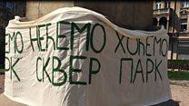 Протест против пешачке зоне: Како да дођу ватрогаци до Топличиног венца