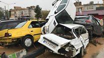 У Ірані сотні автомобілів змила повінь