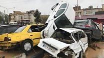 Наводнения в Иране