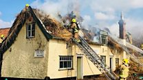 Pub roof blaze 'absolutely devastating'