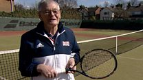 The 87-year-old tennis world number one