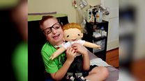 Children's joy at seeing dolls like them