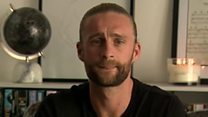 Footballer 'lucky' to be alive after heart scare
