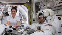 미 항공우주국의 여성 우주비행사들만의 프로젝트 무산