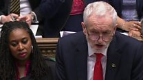 Corbyn asks PM: What is her Plan B?