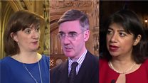 MPs react to May's promise to quit