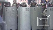 Как разгоняли митинг в Ингушетии