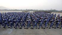 Inside 'genocidal' army's celebrations