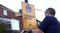 Firefighters ask drivers to think before they park