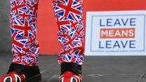 Leavers marching 270 miles for Brexit