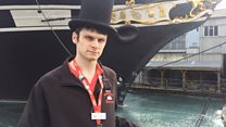 Asperger's tour guide is inspiring role model