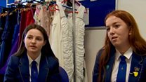 School's dress hire help for prom costs
