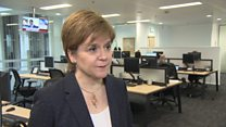 Nicola Sturgeon reacts to defeated Brexit deal