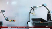 Click: Түрдүү буюмдарды ыргыта алган робот