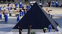 Papery pyramid