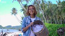 เกาะสวรรค์ที่เต็มไปด้วยพลาสติกของอินโดนีเซีย