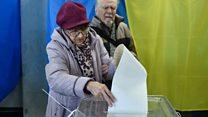 Ukraine's monster ballot paper