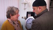Meet the 'clock man' helping the elderly